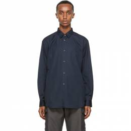 Comme des Garcons Shirt Navy Classic Forever Shirt FO01B201