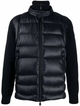 Moncler Grenoble quilted panel high-neck jacket F20979B5050094778