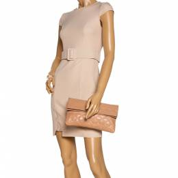 Marc by Marc Jacobs Beige Leather Eugenie Clutch 325738
