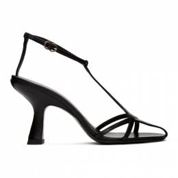 Simon Miller Black Star Heeled Sandals F143-9013