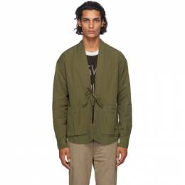 Visvim Green Lhamo Shirt 0120205011015