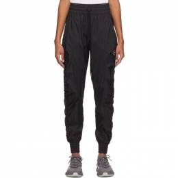 Adidas by Stella McCartney Black Recycled Ripstop Track Pants FU3985
