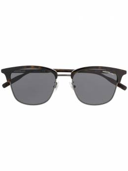 Montblanc round frame sunglasses MB0136SK