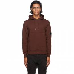 C.P. Company Brown Lens Hoodie 09CMSS040A-005086W