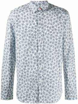 Paul Smith abstract-floral print long sleeve shirt M2R460RE21074