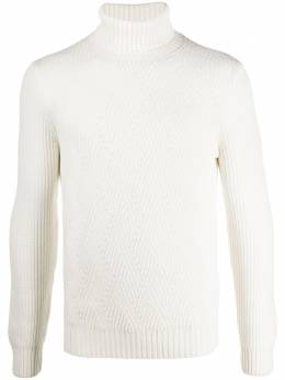Barba knitted roll neck jumper 1352414230