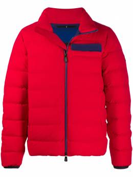 Moncler Grenoble contrasting tape down jacket F20971A510405399D