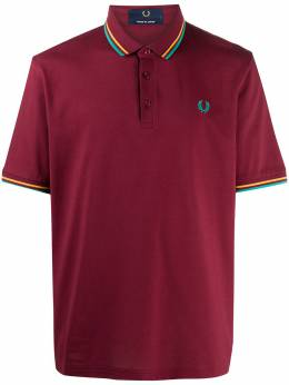 Fred Perry embroidered logo cotton polo shirt M10235PIQUETB19