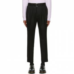 Officine Generale Black Wool Pierre Trousers W20MTLG460