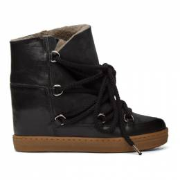 Isabel Marant Black Nowles Ankle Boots 00MBO0027-00M105S