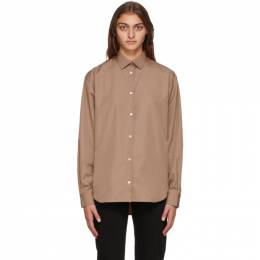 Toteme Brown Vilero Shirt 204-738-710