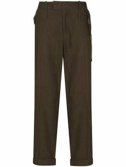 Craig Green uniform cotton straight leg trousers CGAW20CWOTRS01