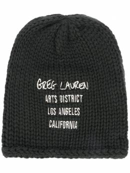 Greg Lauren шапка бини Arts District AA160