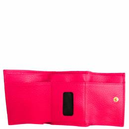 Gucci Pink Leather GG Marmont Wallet 330304