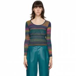 Simon Miller Multicolor Amo Scoop Neck Sweater W784-6032