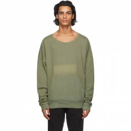 Greg Lauren Green Army Sweatshirt AM256