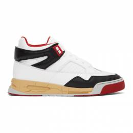 Maison Margiela Red and White DDSTCK Sneakers S37WS0561 P3712 H8316