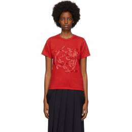 Red Bow T-Shirt NF-T010-051 Comme des Garcons Girl
