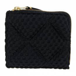 Black Turtle Padded Coin Pouch SA3100FT Comme des Garcons Wallets