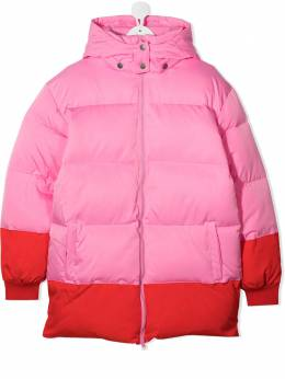 Stella Mccartney Kids пуховик с логотипом 601278SPK86
