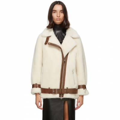 Off-White Wool Colleen Jacket Stand Studio 61188-8540 - 1