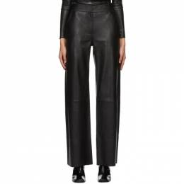 Black Leather Megan Trousers Stand Studio 61157-7010