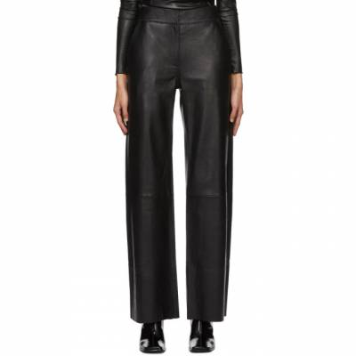 Black Leather Megan Trousers Stand Studio 61157-7010 - 1