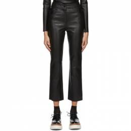 Black Leather Avery Trousers Stand Studio 61163-7010