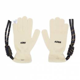 Ader Error Off-White Crumple Gloves BTAFWAC03IV