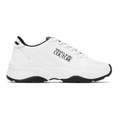 Versace Jeans Couture White Extreme Sneakers EE0YZBSI3E71779 - 1