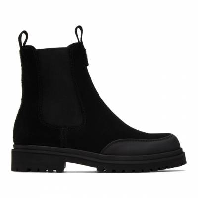 Versace Jeans Couture Black Tank Formal Chelsea Boots EE0YZBS03E71759 - 1
