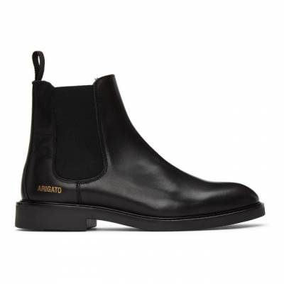 Axel Arigato Black Leather Chelsea Boots 21004 - 1