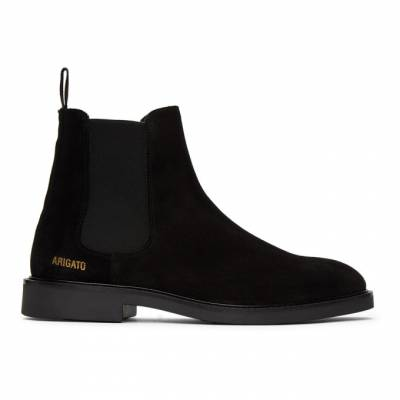 Axel Arigato Black Suede Chelsea Boots 21002 - 1