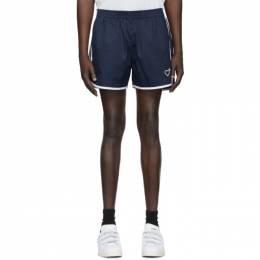 Navy Human Made Edition Run Shorts adidas x Human Made GM4186