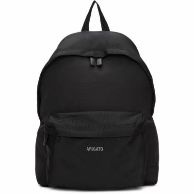 Axel Arigato Black Sterling Logo Backpack 13144 - 1
