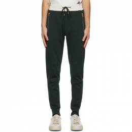 Paul Smith Green and Off-White Contrast Lounge Pants M1R-200UM-E00552