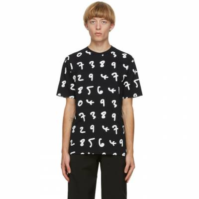 Paul Smith Black Numbers T-Shirt M1R-919T-EP1938 - 1