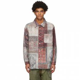 Multicolor Print Shirt COTDSH-122C Children of the Discordance