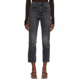 Ksubi Black Chlo Wasted Jeans 42200