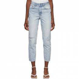 Ksubi Blue Ripped Pointer Jeans 46620