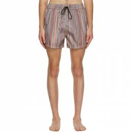 Paul Smith Multicolor Signature Stripe Swim Shorts M1A-239B-A40674