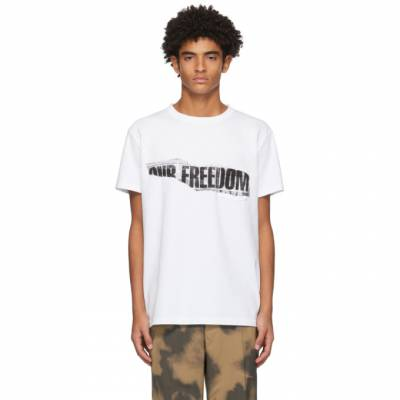 White Our Freedom T-Shirt Schnaydermans 7600582-01 - 1