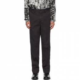 Black Overdyed Trousers Schnaydermans 3100546-01