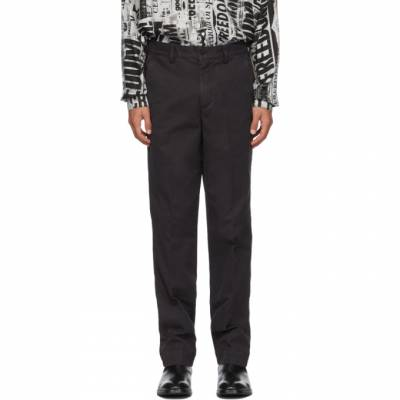 Black Overdyed Trousers Schnaydermans 3100546-01 - 1