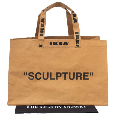Off-White x Ikea Brown Markerad Sculpture Bag L 331723 - 7