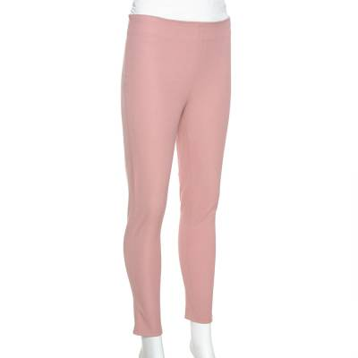 Joseph Light Pink Stretch Gabardine New Tony Cropped Trousers S 334939 - 1