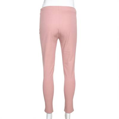 Joseph Light Pink Stretch Gabardine New Tony Cropped Trousers S 334939 - 2