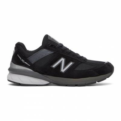 New Balance Black Made In US 992 Sneakers M992BL - 1