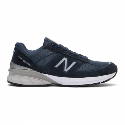 New Balance Navy Made In US 990 v5 Sneakers M990NV5 - 1