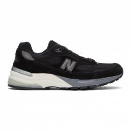 New Balance Black Made In US 990 v5 Sneakers M990BK5
